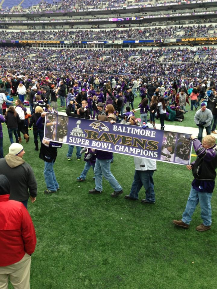 Baltimore Ravens Super Bowl Victory Parade