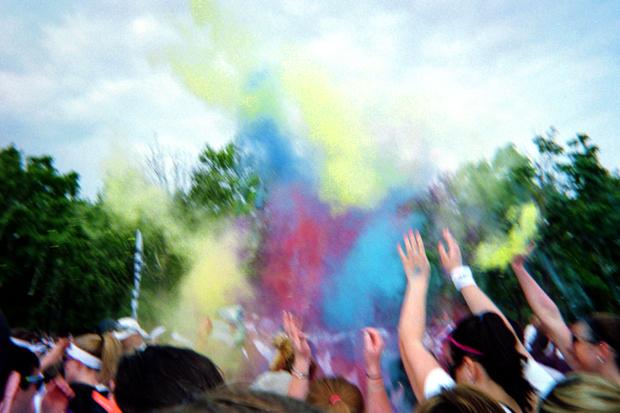 Color Run in Baltimore