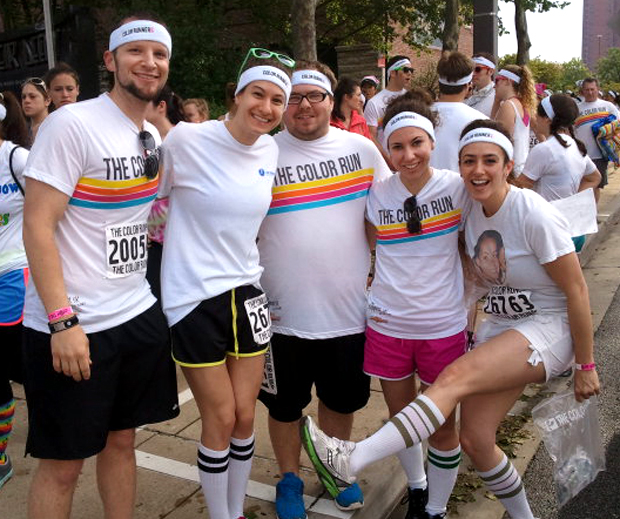 Holabird Sports at the Color Run