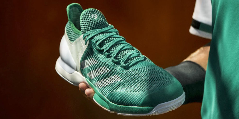 reputable site 0f770 5e0e0 Tennis players will love the adidas adiZero Ubersonic 2 Clay tennis shoes  enhanced with incredibly lightweight materials to make speed a priority on  the ...